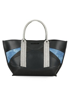 Steve Madden Melody Colorblock Tote Bag