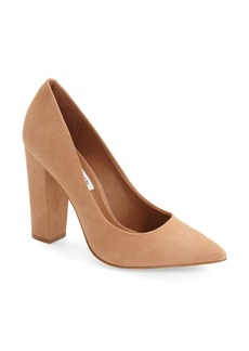 Steve Madden 'Primpy' Pointy Toe Block Heel Pump (Women)