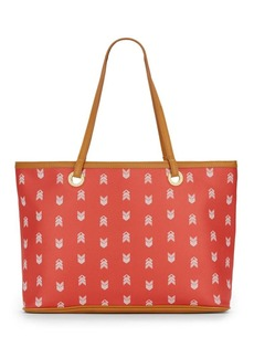 Steve Madden Printed Faux Leather Tote