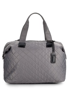 Steve Madden Quilted Duffle Bag
