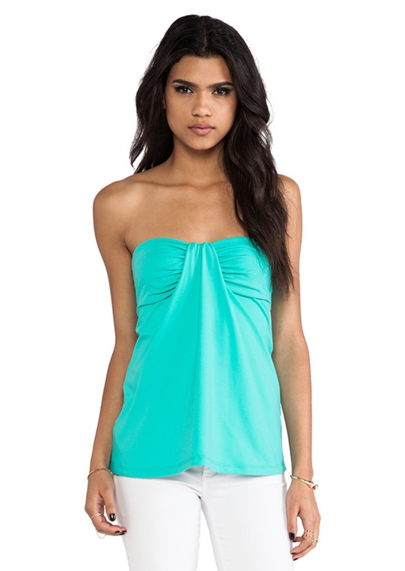 Susana Monaco Kai Strapless Top in Mint