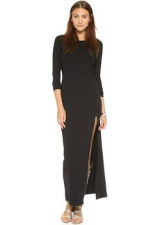 Susana Monaco Kiki Slit Maxi Dress