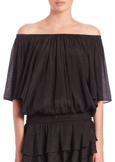 T-bags Los Angeles On/Off-The-Shoulder Top