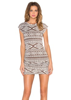 T-Bags LosAngeles Ruched Mini Dress