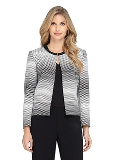 Tahari ASL® Beaded Open Jacket