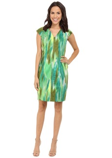 Tahari by ASL Sleeveless Sheath w/ Notch Neck