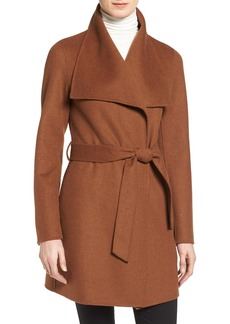 Tahari 'Ella' Belted Wool Blend Wrap Coat (Regular & Petite)