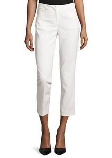 Tahari Kassia Straight-Leg Cropped Pants