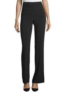 Tahari Pippa High-Waist Wide-Leg Knit Pants