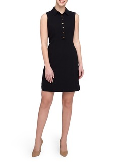 Tahari Sleeveless Shirtdress