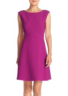 Tahari Woven Fit & Flare Dress (Regular & Petite) (Online Only)