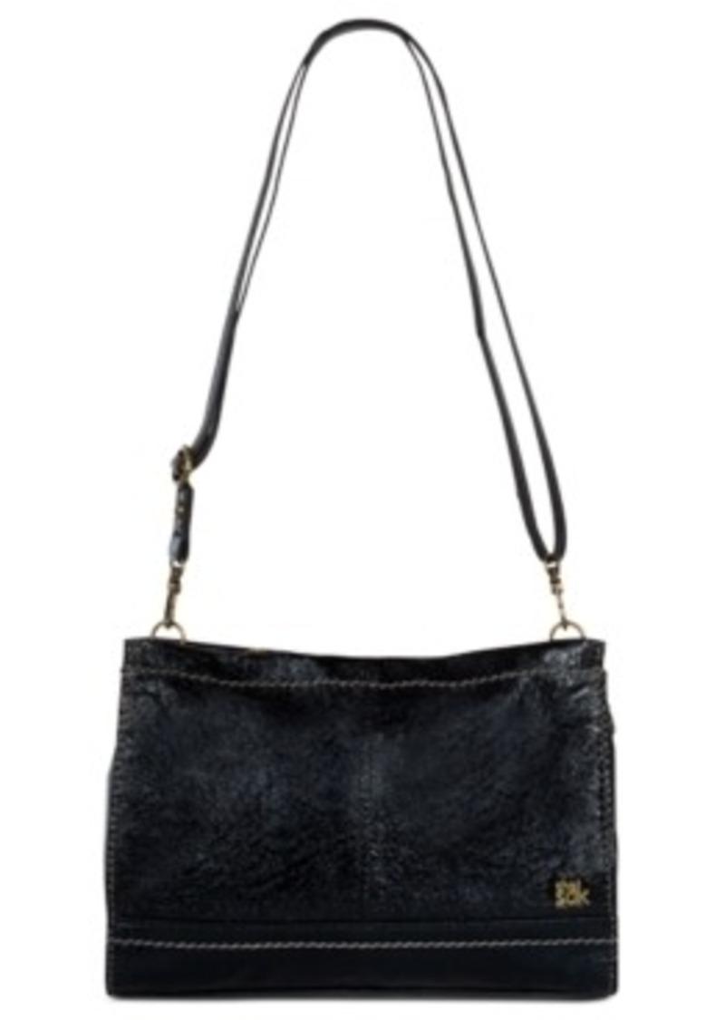 The Sak Iris Leather Demi Clutch