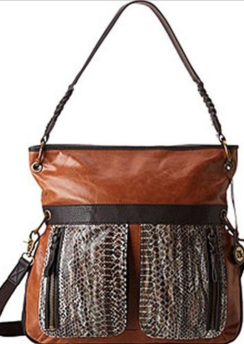 The SAK Pax Large Cross Body Bag,Brown Snake Multi,One Size