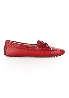 Tod's City Gommino lace-up leather loafers