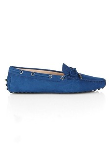 Tod's Gommino tie-front leather loafers