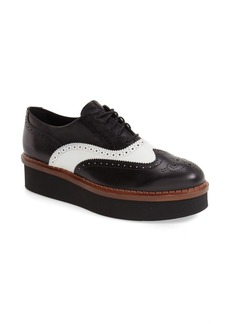 Tod's 'Lightsole' Creeper Wingtip Oxford (Women) (Nordstrom Exclusive)