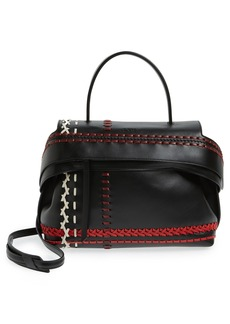 Tod's 'Medium Wave' Leather Satchel