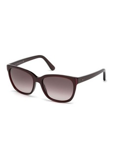Tod's Oversized Rectangle Gradient Sunglasses