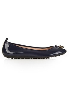 Tod's Studded patent-leather ballet flats