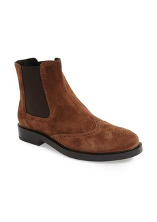 Tod's Wingtip Chelsea Boot (Women)