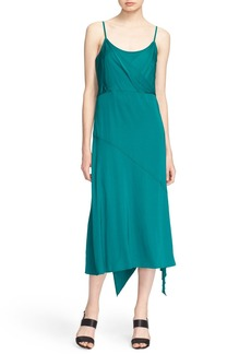 Tracy Reese Asymmetrical Midi Slipdress