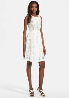 Tracy Reese Lace Fit & Flare Dress