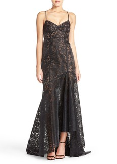 Tracy Reese Lace High/Low Mermaid Gown