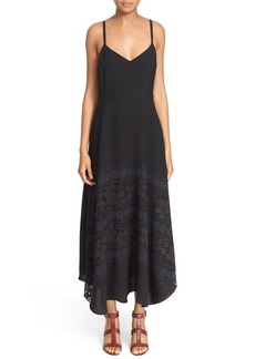 Tracy Reese Lace Trim Slipdress