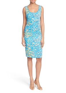 Tracy Reese 'T' Print Stretch Silk Dress